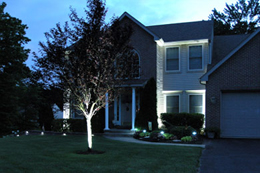 Pittsburgh landscape lighting.